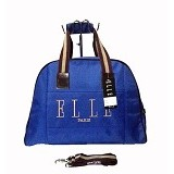 ELLE Travel Bag Medium Long Rope - Blue (Merchant) - Travel Bag
