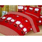 ELLENOV SPREI BAHAN KATUN Kitty Oriental Small Single Size - Seprai & Handuk