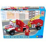 EMCO Brix Fire Rescue Truck [8666] (Merchant) - Building Set Occupation