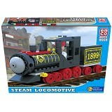 EMCO Brix Steam Locomotive (Merchant) - Building Set Transportation