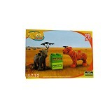 EMCO Lego Blox Zoo Time Harimau dan Kambing (Merchant) - Building Set Animal / Nature