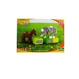 EMCO Lego Blox Zoo Time Kuda dan Zebra (Merchant) - Building Set Animal / Nature