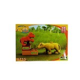 EMCO Lego Blox Zoo Time Singa (Merchant) - Building Set Animal / Nature