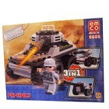 EMCO Lego Brix 3in1 Rhino (Merchant) - Building Set Occupation