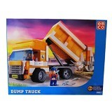 EMCO Lego Brix 8801 Dump Truck (Merchant) - Building Set Occupation