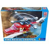EMCO Lego Brix Fire Rescue Chopper (Merchant) - Building Set Transportation