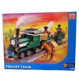 EMCO Lego Brix Freight Train [8804] (Merchant) - Building Set Transportation