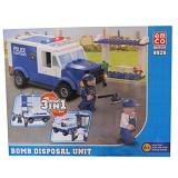 EMCO Lego Brix Option 3 in 1 Bomb Disposal Unit [8826] (Merchant) - Building Set Transportation