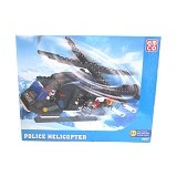 EMCO Lego Brix Police Helicopter (Merchant) - Building Set Transportation