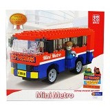 EMCO Lego Brix Spesial Edition Indonesia Metro Mini (Merchant) - Building Set Occupation