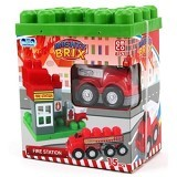 EMCO Lego Mighty Brix Fire Station (Merchant) - Building Set Occupation