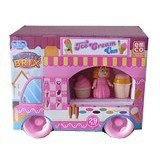 EMCO Lego Mighty Brix Ice Cream Van (Merchant) - Building Set Fantasy / Sci-Fi