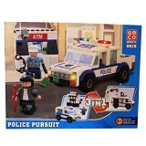 EMCO Option 3 in 1 Police Pursuit [8828] (Merchant) - Building Set Transportation