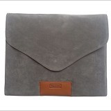 "EMICOO Gripping Envelope 13"" - Metallic Grey (Merchant) - Notebook Sleeve"