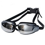 EMPIRE Goggles Mirror Anti Fog UV Protection - Black (Merchant) - Kacamata Renang