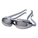 EMPIRE Goggles Mirror Anti Fog UV Protection - Grey (Merchant) - Kacamata Renang