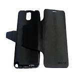 EMPIRE Kingcase Leather Flipshell Casing for Samsung Galaxy Note 3 N9005 - Black (Merchant) - Casing Handphone / Case