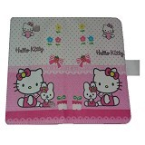 EMPIRE Leather Case Samsung Galaxy Core 2 G355 Character Hellokitty 2 (Merchant) - Casing Handphone / Case