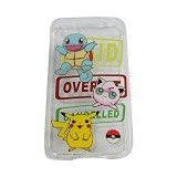 EMPIRE Silicone Casing for Apple iPhone 5G/5S/5SE Edition Pokemon 1 (Merchant) - Casing Handphone / Case