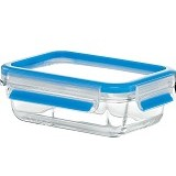 EMSA Clip & Close Glass Container Rectangular [513918] - Wadah Makanan