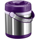 EMSA Mobility Vacuum Food Flask 1.2 L [509233] - Blackberry/Light Violet - Lunch Box / Kotak Makan / Rantang