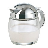 EMSA Scandic Creamer [258001600] - Glass/Chrome - Tempat Bumbu