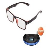 ENERGEYES Digital Lenses - Comfort Red - Kacamata Frame