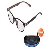 ENERGEYES Digital Lenses - Freshen Brown - Kacamata Frame
