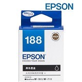 EPSON Black Ink Cartridge [C13T188190] - Tinta Printer Epson