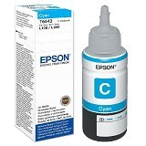 EPSON Cyan Ink Cartridge [T6642] - Tinta Printer Epson