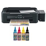 EPSON Printer L355 SUN Pigment Pro Ink - Printer Bisnis Multifunction Inkjet