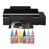 EPSON Printer  L800 SUN Art Paper Dura Ultra Ink - Printer Ink Jet