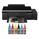 EPSON Printer  L800 SUN Pigment Pro Ink - Printer Bisnis Inkjet