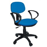 ERGOSIT OR Seat G with Arm - Blue - Kursi Kantor