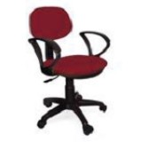 ERGOSIT OR Seat G with Arm - Red - Kursi Kantor