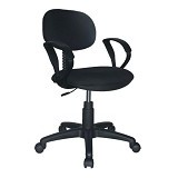 ERGOSIT OR Seat with Arm - Black - Kursi Kantor