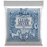 ERNIE BALL Ernesto Palla Clear & Silver Nylon Classical Guitar Strings [2403] - Senar Gitar