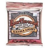 ERNIE BALL Senar Gitar Earthwood Phosphor Extra Light Silver [9150] (Merchant) - Senar Gitar