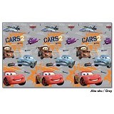 EVAMAT Tikar Anak Cars 2 Secret Mission - Grey - Gym and Playmate for Baby / Kids