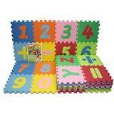 EVAMATS Karpet Puzzle Abjad dan Angka - Gym and Playmate for Baby / Kids