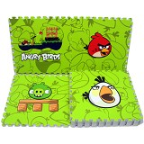 EVAMATS Karpet Puzzle Angry Bird - Gym and Playmate for Baby / Kids