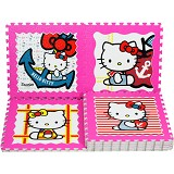 EVAMATS Karpet Puzzle Hello Kitty - Gym and Playmate for Baby / Kids