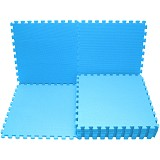 EVAMATS Karpet Puzzle - Light Blue - Gym and Playmate for Baby / Kids