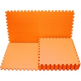 EVAMATS Karpet Puzzle - Orange - Gym and Playmate for Baby / Kids