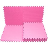EVAMATS Karpet Puzzle - Pink - Gym and Playmate for Baby / Kids
