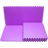 EVAMATS Karpet Puzzle - Purple - Gym and Playmate for Baby / Kids