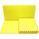 EVAMATS Karpet Puzzle - Yellow - Gym and Playmate for Baby / Kids