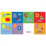 EVAMATS Puzzle Abjad Gambar - Gym and Playmate for Baby / Kids