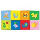 EVAMATS Puzzle Gambar Hewan - Gym and Playmate for Baby / Kids