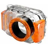 EVERSHOW Universal Pocket Camera Underwater - Orange (Merchant) - Camcorder Lens Cap and Housing Protection